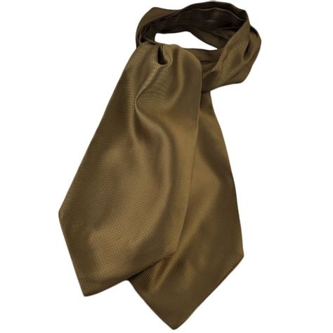 plain beige ribbed self tie casual day cravat from ties