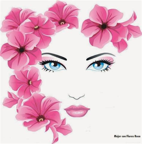 imagenes de ojos con flores chica con flores chicas flores y pinturas