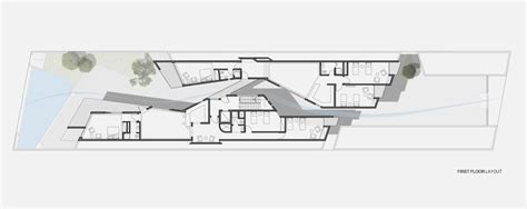 Home Interior Decorating Tips modern house based on natural alley shape alley house