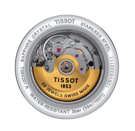Tissot Carson Automatic White Stainless Steel T085 207 11 tissot carson t085 207 22 011 00 anytime