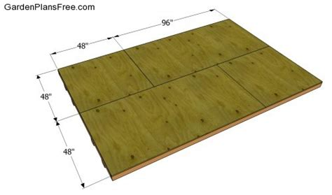 Plywood For Shed Floor by Lean To Shed Plans Free Free Garden Plans How To Build Garden Projects