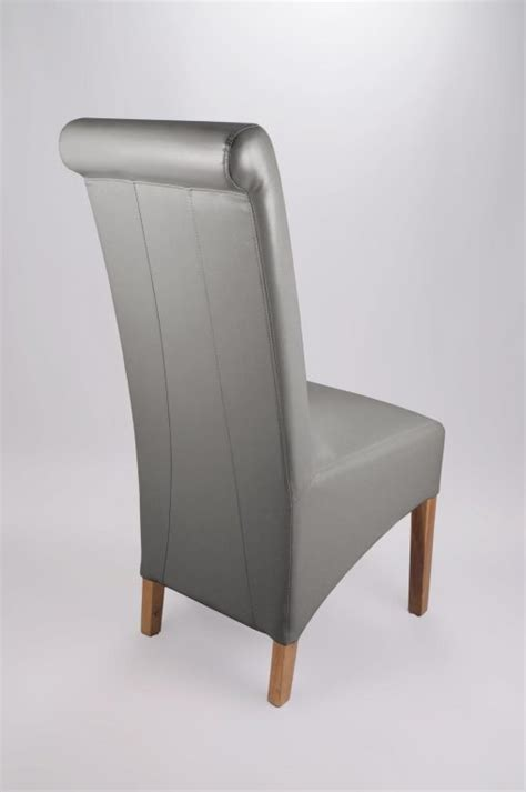 Faux Leather Dining Chairs Uk Furniture Upholstered Dining Chair Fabric Dining Chairs Grey Leather Dining Chairs Ebay Grey