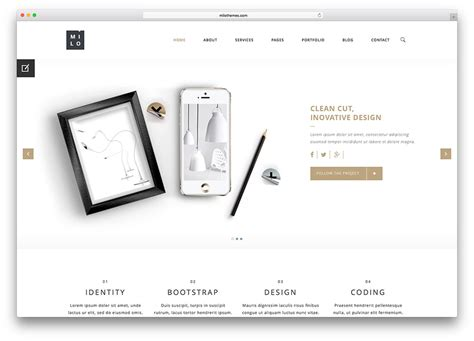 product presentation website template tomyads info