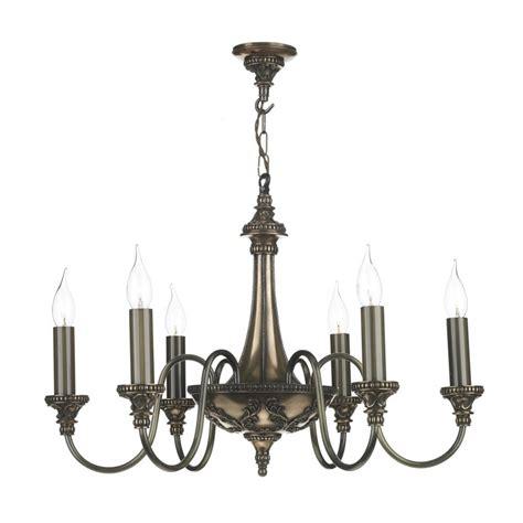 Traditional Rich Bronze Hanging Chandelier Pendant Light Chandelier Hunt
