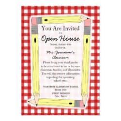 school open house template back to school open house invitation 5 quot x 7 quot invitation