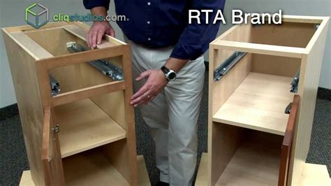 How To Assemble Kitchen Cabinets | cliqstudios vs ready to assemble cabinets rta cabinets