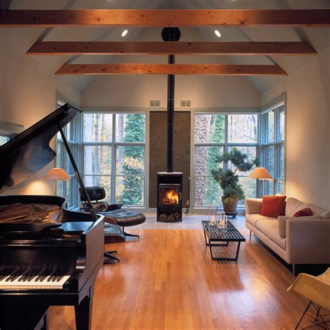 chesapeake cabin rustic living room dc metro by