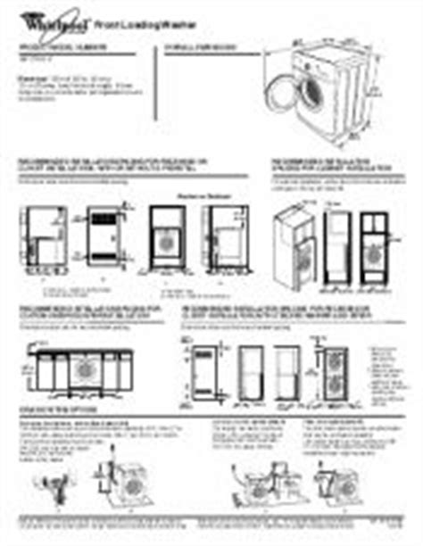 Washer Dryer Closet Dimensions by 25 Best Ideas About Stackable Washer Dryer Dimensions On