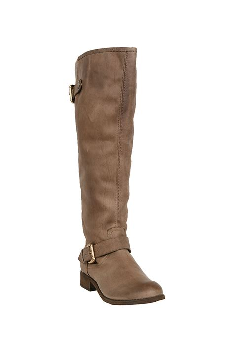 steve madden lynet boot in brown lyst