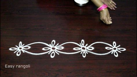 side designs side designs for muggulu kolam side designs easy