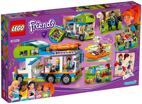 Lego Friends Arina lego friends 41339 pas cher le cing car de