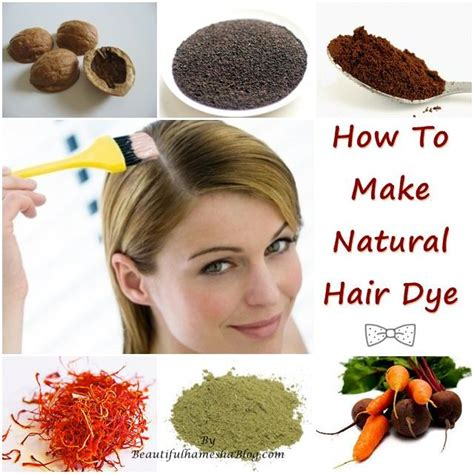natural hair color beautiful color safer ingredients how to make natural hair dye