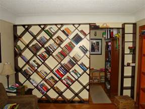 Build My Own Bookshelf Echoes In Eternity Diagonal Bookshelf Plans