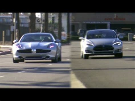 Fisker And Tesla Fisker Karma Vs Tesla Model S