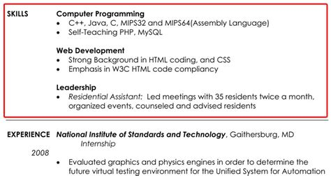 Proficient Computer Skills Resume Sample writing your resume hood college