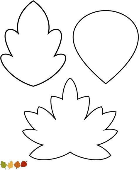 leaf templates for thankful tree blaadjes boombladeren
