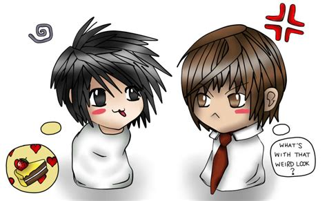 step by step death note near hairstyle chibi light and l by hellcrystal27 on deviantart