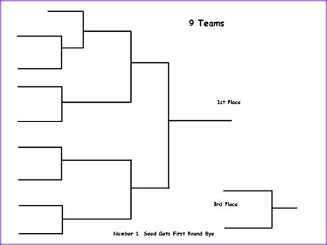 99 tournament brackets template excel