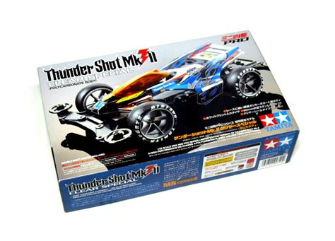 95336 Thunder Clear Special Polycarbonate tamiya model mini 4wd racing car 1 32 thunder mkii clear s hobby 94740 mini 4wd rcecho
