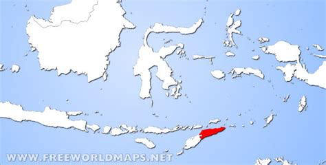 where is east timor located on the world map east timor located world map