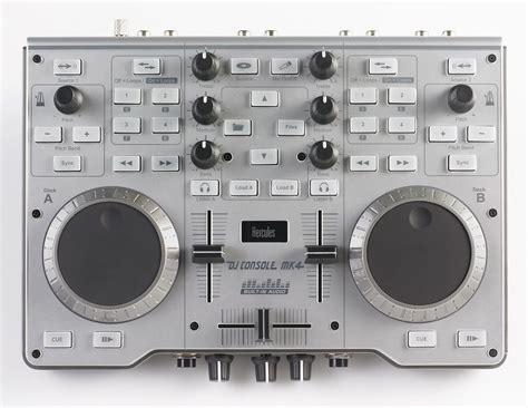 dj console hercules dj console mk4 pc mac usb dj controller pssl