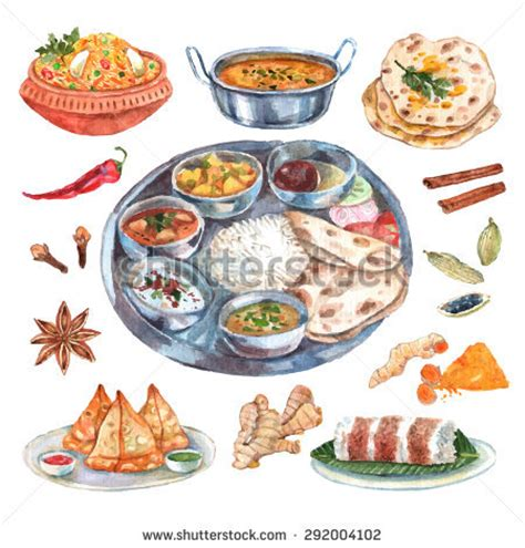Wedding Food Clipart by Indian Wedding Food Clipart 42