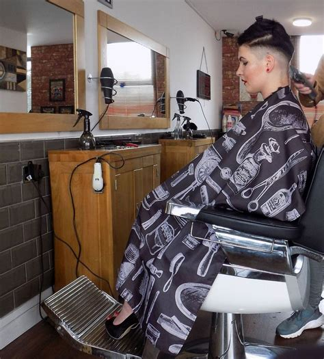 women head shave barber chair 365 best images about barber shop on pinterest barber