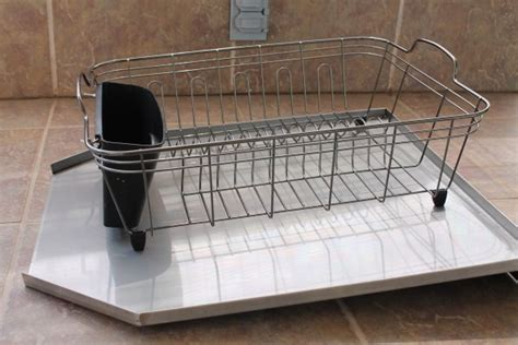 in sink dish rack stainless steel in sink dish rack cosmecol