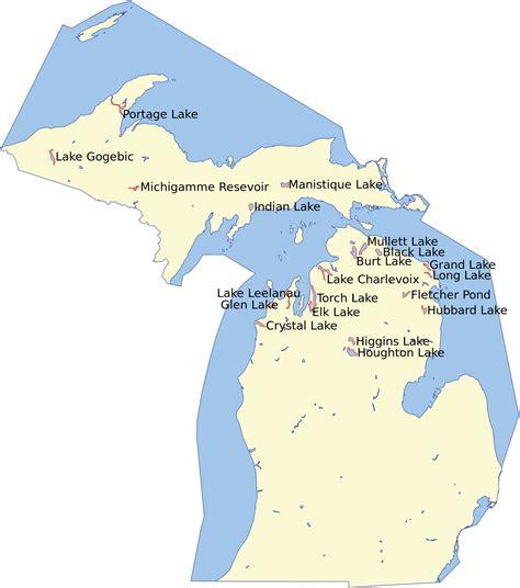 list of lakes of michigan wikipedia