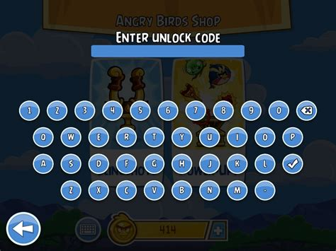 new codes angry birds wiki