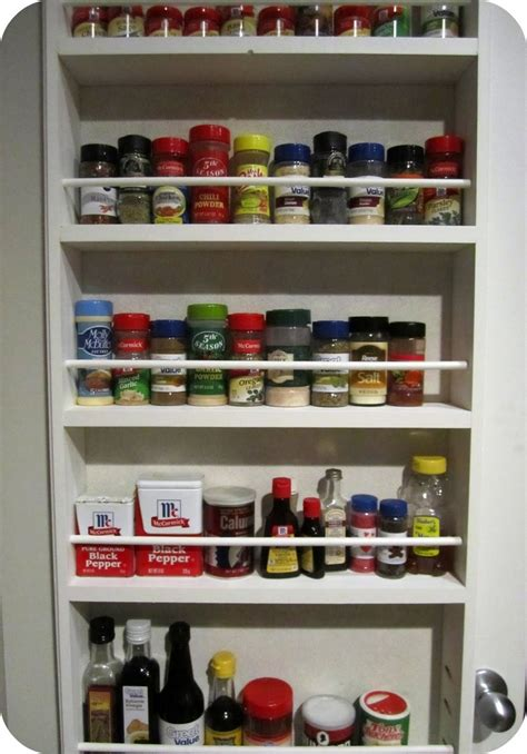 diy the door spice rack in door spice rack kitchens