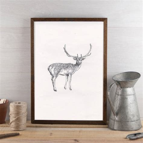 stag wall decor stag wall seedlings cards homegirl