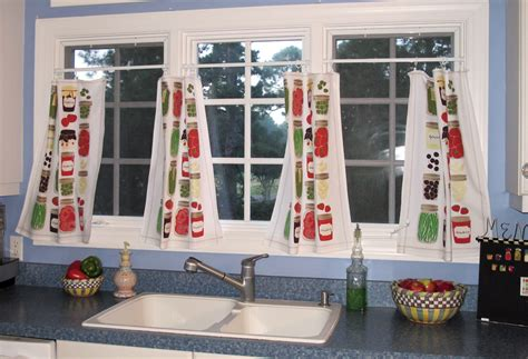 towel curtains tea towels on pinterest tea towels cafe curtains and