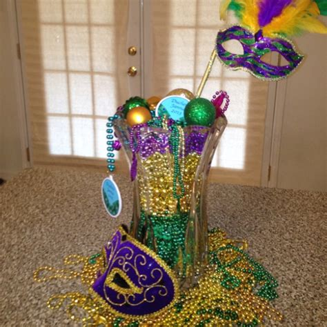 17 Best Images About Mardi Gras Centerpieces On Pinterest Mardi Gras Centerpieces