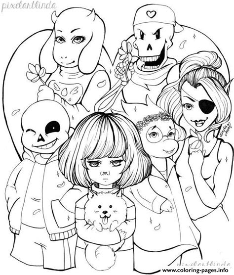 coloring pages undertale 46 best coloring pages images on eye drawings
