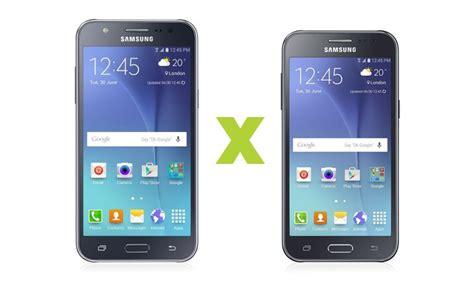 Samsung J5 Vs J2 galaxy j5 vs galaxy j2 disputa entre smartphones samsung
