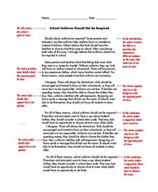 Persuasive Essay On School by Persuasive Essay Exle 8 Sles In Word Pdf