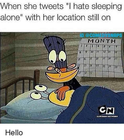 Sleeping Alone Meme - 25 best memes about hate sleeping alone hate sleeping