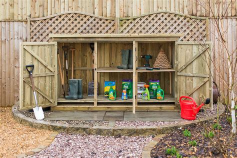 garden storage ideas tips hacks  solutions      globe
