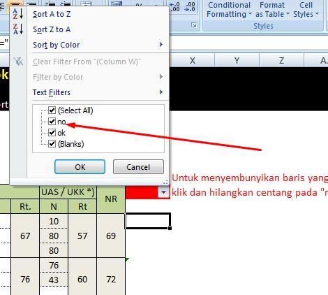 membuat form login pada excel 2007 aplikasi nilai raport ktsp excel deuniv