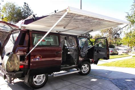 Fiamma F45 Awning For Sale 1991 Volkswagen Vanagon Syncro Westfalia German Cars For