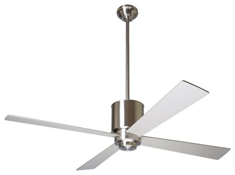 modern ceiling fans 52 quot modern fan lapa bright nickel ceiling fan