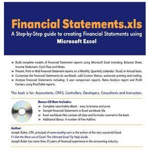 Quot Financial Statements Xls A Step By Step Guide To