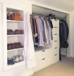 closet drawers ikea nordli drawers turned built in closet the best ikea