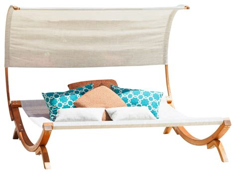 chaise lounge with canopy rosalie outdoor patio chaise lounge sunbed and canopy