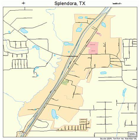 splendora texas map splendora texas map 4869548