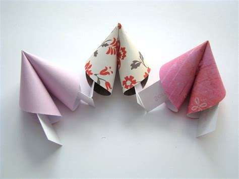 fortune cookie origami themed origami fortune cookies set of 10 183 origami