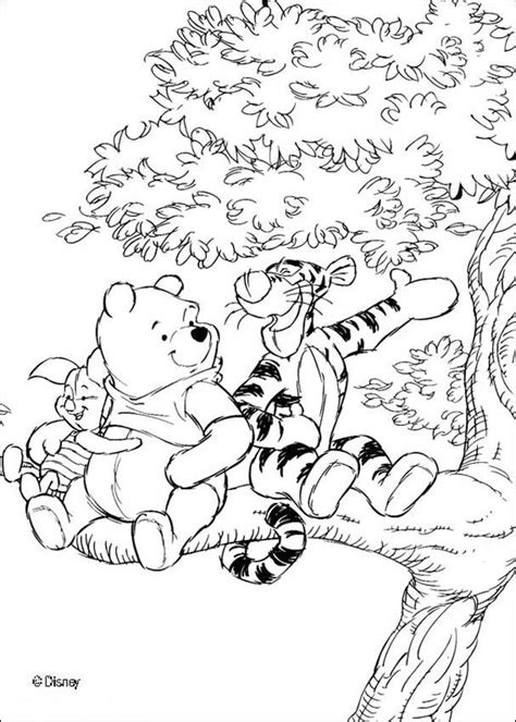 winnie the pooh coloring pages winnie s friends tigger