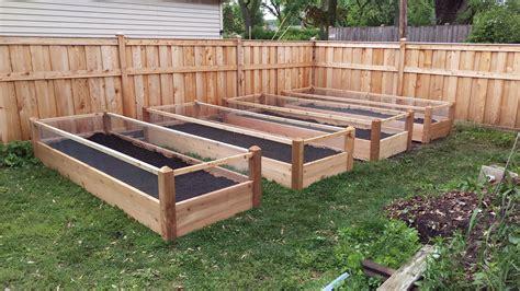 menards raised garden bed menards cedar raised garden bed garden ftempo