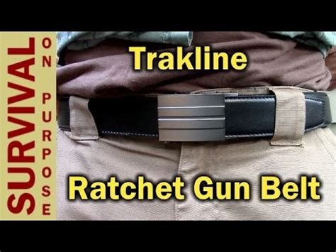 trakline ratchet belt review leather gun belt